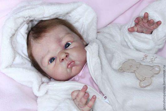 Куклы-младенцы и reborn ручной работы. Ярмарка Мастеров - ручная работа. Купить Сладкая булочка,малышка Перис. Handmade. мохер