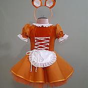 Одежда детская handmade. Livemaster - original item Costume Chanterelles. Handmade.