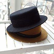 Шляпка канотье Париж
