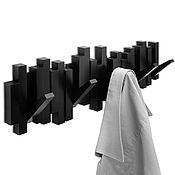 Для дома и интерьера handmade. Livemaster - original item Wall hanger sticks black. Handmade.