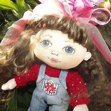 Куклы и игрушки ручной работы. Ярмарка Мастеров - ручная работа Куклы: Интерьерная кукла Наташа. Handmade.