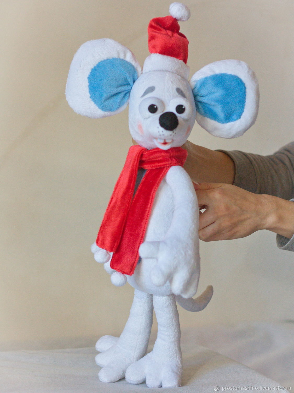 Мышь белая, новогодняя, Кукольный театр, Киев,  Фото №1