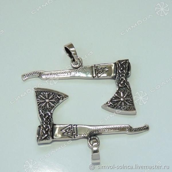 Talisman VIKING AXE ('s called the aegishjalmur will Valknut), Amulet, Sochi,  Фото №1
