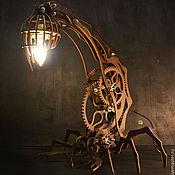 Для дома и интерьера ручной работы. Ярмарка Мастеров - ручная работа Лампа скорпион. Handmade.