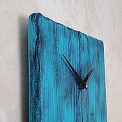 Для дома и интерьера ручной работы. Ярмарка Мастеров - ручная работа Часы интерьерные бирюзовые. Handmade.