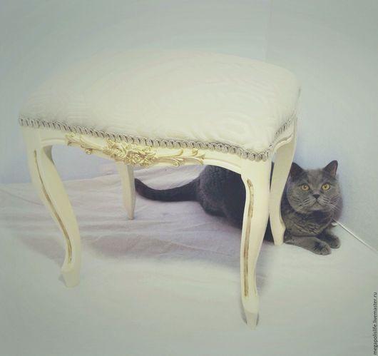 Мебель ручной работы. Ярмарка Мастеров - ручная работа. Купить Банкетка  Шик.. Handmade. Мебель, белый, стул, Дерево натуральное