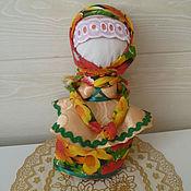 Куклы и игрушки ручной работы. Ярмарка Мастеров - ручная работа Кукла на ложке. Handmade.