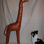 Для дома и интерьера ручной работы. Ярмарка Мастеров - ручная работа Жираф эксклюзив для интерьера. Handmade.