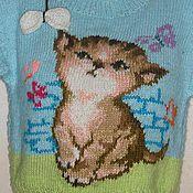 """Работы для детей, ручной работы. Ярмарка Мастеров - ручная работа пуловер """"ОЧАРОВАШКА"""". Handmade."""