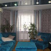 Для дома и интерьера handmade. Livemaster - original item Grey curtains for living room. Handmade.