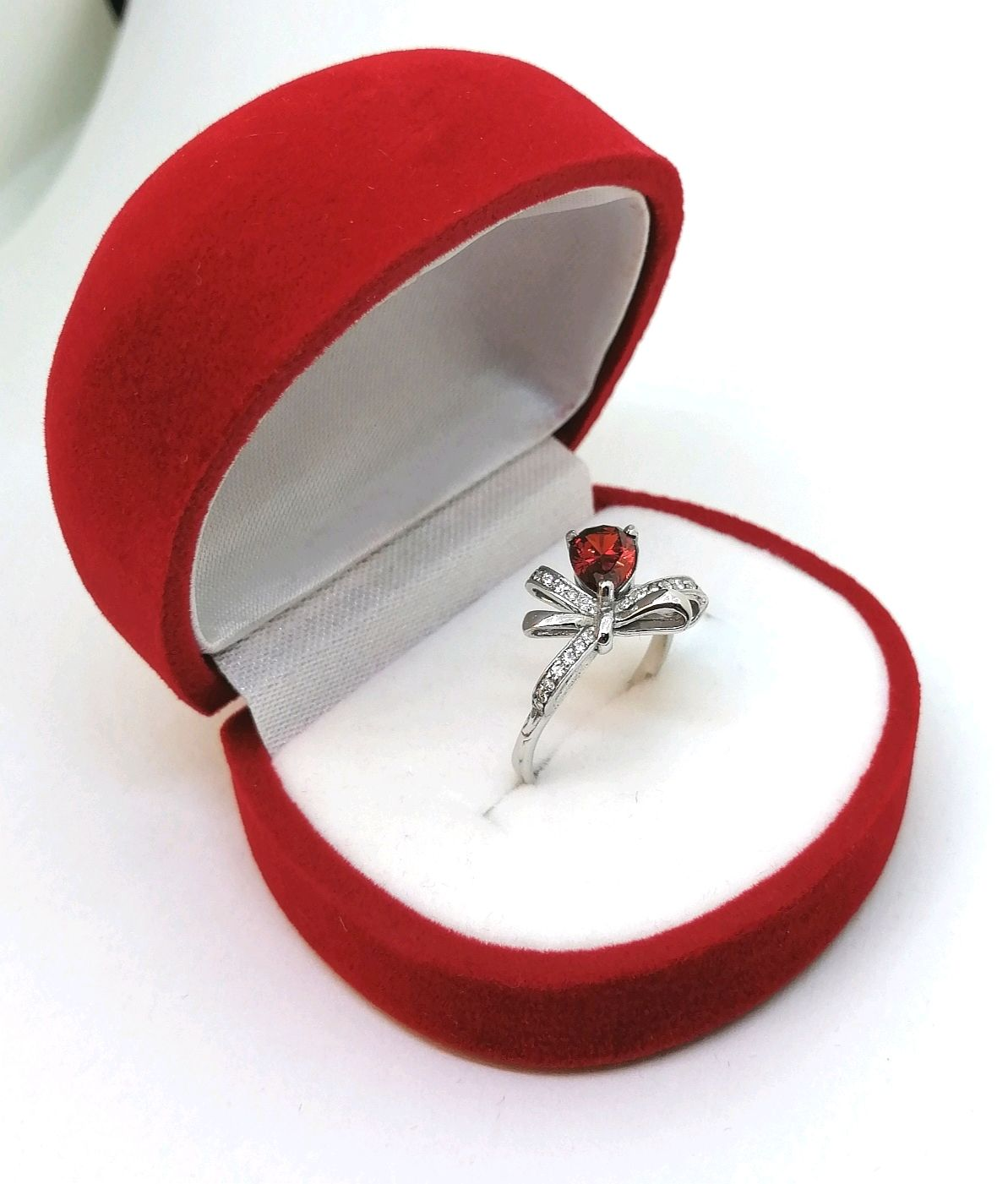Кольцо серебряное красное ( серебро 925 пробы), Кольца, Симферополь,  Фото №1
