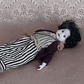 """Куклы и игрушки ручной работы. Ярмарка Мастеров - ручная работа """"Парижанка"""". Кабинетная фарфоровая кукла. Handmade."""