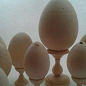 Материалы для творчества ручной работы. Ярмарка Мастеров - ручная работа яйца  деревянные Пасхальные. Handmade.