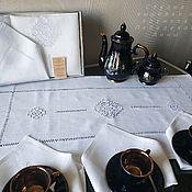 Для дома и интерьера handmade. Livemaster - original item Tea linen set 2 (track 6 napkins) Ivanovo stitch. Handmade.