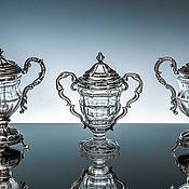 Посуда handmade. Livemaster - original item Banks: Silver Spice Jars. Handmade.