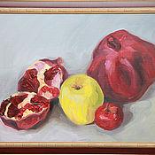 Картины и панно ручной работы. Ярмарка Мастеров - ручная работа Гранаты. Handmade.