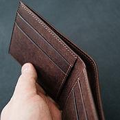 Сумки и аксессуары handmade. Livemaster - original item Genuine leather wallet, men`s wallet. Handmade.