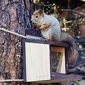 Дача и сад handmade. Livemaster - original item Feeder for squirrels from the tree