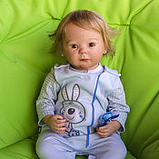 Куклы Reborn ручной работы. Ярмарка Мастеров - ручная работа Кукла реборн Алиса (молд Марли). Handmade.