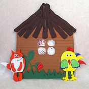 Куклы и игрушки ручной работы. Ярмарка Мастеров - ручная работа Игровой домик для кукольного театра. Handmade.