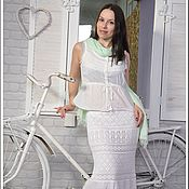 Одежда handmade. Livemaster - original item Skirt crochet summer