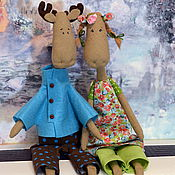 Куклы и игрушки ручной работы. Ярмарка Мастеров - ручная работа Летние лосики. Handmade.