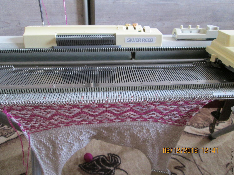 Машинное вязание видео сильвер