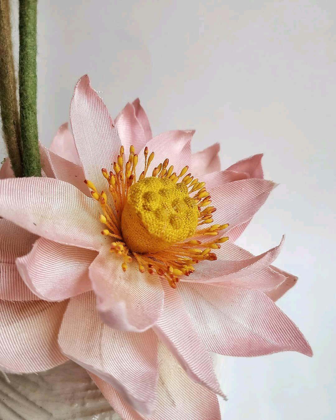 Интерьерная композиция Лотос в трёх стадиях цветения, Цветы, Омск,  Фото №1