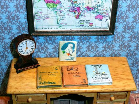 Кукольный дом ручной работы. Ярмарка Мастеров - ручная работа. Купить Миниатюра 1:12. Детская литература. Сказки и басни.. Handmade.