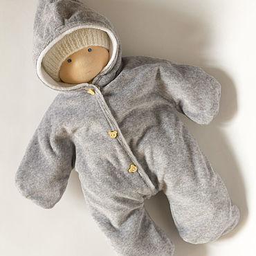 Куклы и игрушки ручной работы. Ярмарка Мастеров - ручная работа Кукла малыш 36 см,  с набором одежды. Handmade.