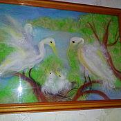 Картины и панно ручной работы. Ярмарка Мастеров - ручная работа Гнездо семейного счастья. Handmade.