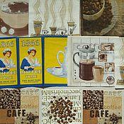 """Материалы для творчества ручной работы. Ярмарка Мастеров - ручная работа """"Кофе"""" /""""Напитки"""" набор салфеток для декупажа. Handmade."""