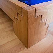 Для дома и интерьера handmade. Livemaster - original item Double bed No. №1. Handmade.