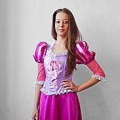 Одежда handmade. Livemaster - original item Rapunzel. Animator-actor suit. Handmade.