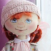 Куклы и игрушки ручной работы. Ярмарка Мастеров - ручная работа Кукла Женька-атаман и Маша. Handmade.