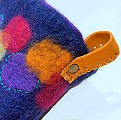 """Обувь ручной работы. Ярмарка Мастеров - ручная работа Чуни """"Игра цвета"""". Handmade."""