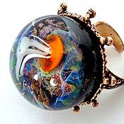 Украшения handmade. Livemaster - original item Ring Sparkling depth. Handmade.