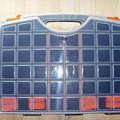 Материалы для творчества ручной работы. Ярмарка Мастеров - ручная работа Ящик универсальный двойной 425Х330Х85 мм. Handmade.