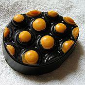 """Косметика ручной работы. Ярмарка Мастеров - ручная работа Мыло """"шоколадно-апельсиновое наслаждение"""". Handmade."""