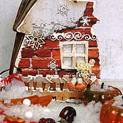 Подарки к праздникам ручной работы. Ярмарка Мастеров - ручная работа Фотоальбом Домик. Handmade.