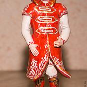 """Свадебный салон ручной работы. Ярмарка Мастеров - ручная работа """"жених"""" керамическая игрушка. Handmade."""