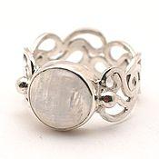 Украшения handmade. Livemaster - original item Silver 925 ring with moonstone. Handmade.