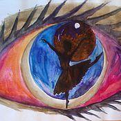 Картины и панно ручной работы. Ярмарка Мастеров - ручная работа Мой мир.Балерина. Handmade.