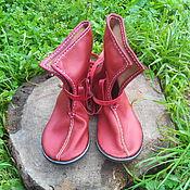 Обувь ручной работы. Ярмарка Мастеров - ручная работа БОТИНКИ. Модель 1 (женские). Handmade.