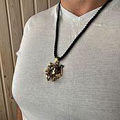 Фен-шуй и эзотерика handmade. Livemaster - original item Medallion Bear (The Witcher). Handmade.