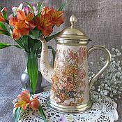 Посуда handmade. Livemaster - original item Vintage coffee pot