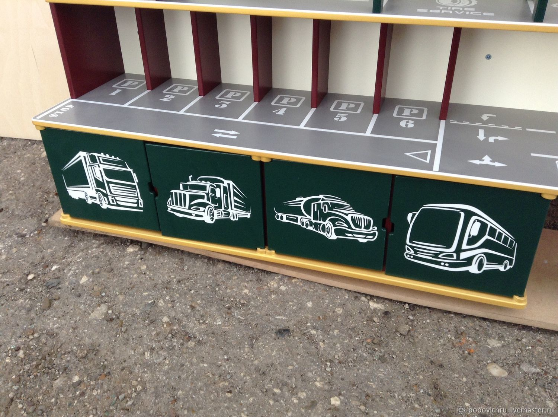Garage for cars. Parking. Rack, Toys, Cheboksary,  Фото №1