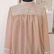 Одежда ручной работы. Ярмарка Мастеров - ручная работа Блуза в стиле 20-х. Handmade.
