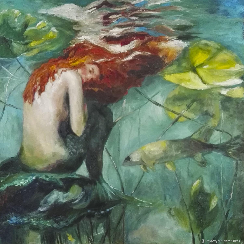 может лежать картинки маслом подводного мира алых парусах юности