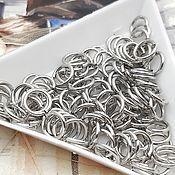 Материалы для творчества handmade. Livemaster - original item 20 PCs. 7h1h2650 connecting rings mm platinum (Ref. ). Handmade.